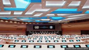 Video walls modernize La Salle des Emirats at UN Headquarters