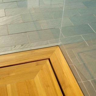 A Closeup Of Vermont Slate Flooring.