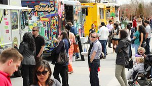 Food truck customer locator services expand into job booking and vice versa