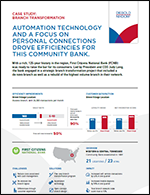 Automation Technology and a Focus on Personal Connections Drove Efficiencies for This Community Bank