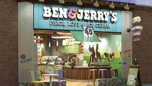 The founders of Ben & Jerry's opened their first retail location in Burlington, VT, in 1978. The company recently launched a new store design to better reflect its founding values.