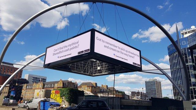 Google extends DOOH campaign in UK