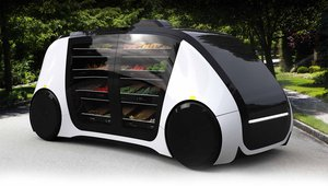 Robomart 'grocery on wheels' debuts at CES