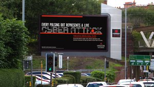Hiscox and Grand Visual raise cybercrime awareness with DOOH campaign