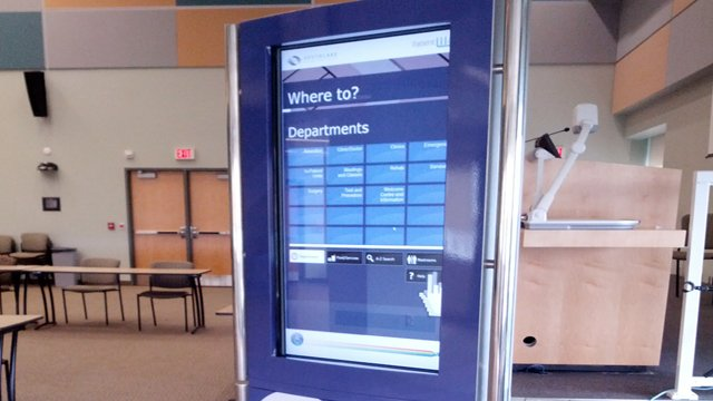The use of digital signage as a wayfinding solution