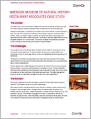 American Museum of Natural History: Restaurant Associates Case Study