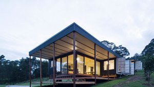 Four shipping containers become affordable, eco-friendly Australian home