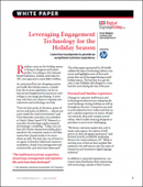 Leveraging Engagement Technology for the Holiday Season