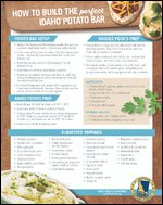 How to Build the Perfect Idaho® Potato Bar
