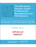 The 2016 Smart Decision Guide to Restaurant Management and POS Systems