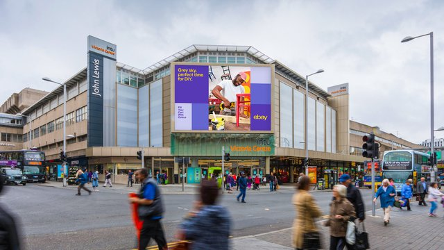 EBay runs DOOH campaign for spring shoppers