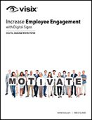 Increase Employee Engagement with Digital Signs