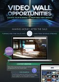 [INFOGRAPHIC] Video Wall Opportunities: Making Money After The Sale