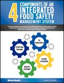 4 Components of an Integrated Food Safety Management System