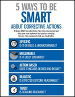 5 Ways to Be SMART About Corrective Actions