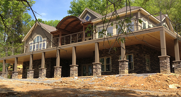 Insulated concrete form construction offers affordable for Icf home