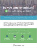 4 Tips on Employing Minors You Need to Know Now!