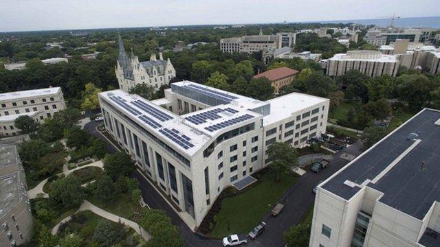 Northwestern unveils first plan for sustainability