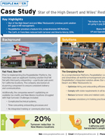 Case Study: Star of the High Desert and Wiles' Restaurants