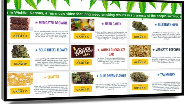 Mvix partners with MJ Freeway for cannabis menu boards