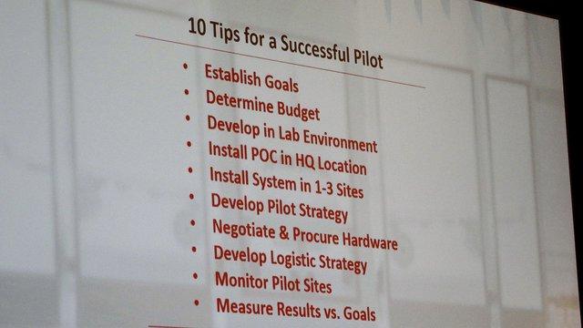 Planning a digital media deployment? First conduct a pilot test