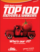 2013 Fast Casual Top 100 Movers & Shakers