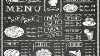 6 strategies for designing the perfect menu