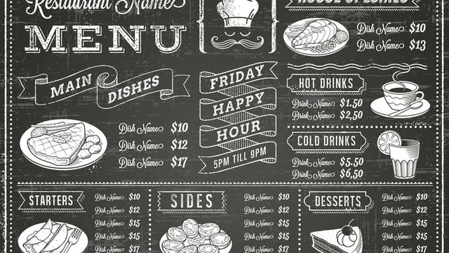 6 strategies for designing the perfect menu