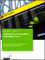 Openness as a Competitive Advantage - Part I