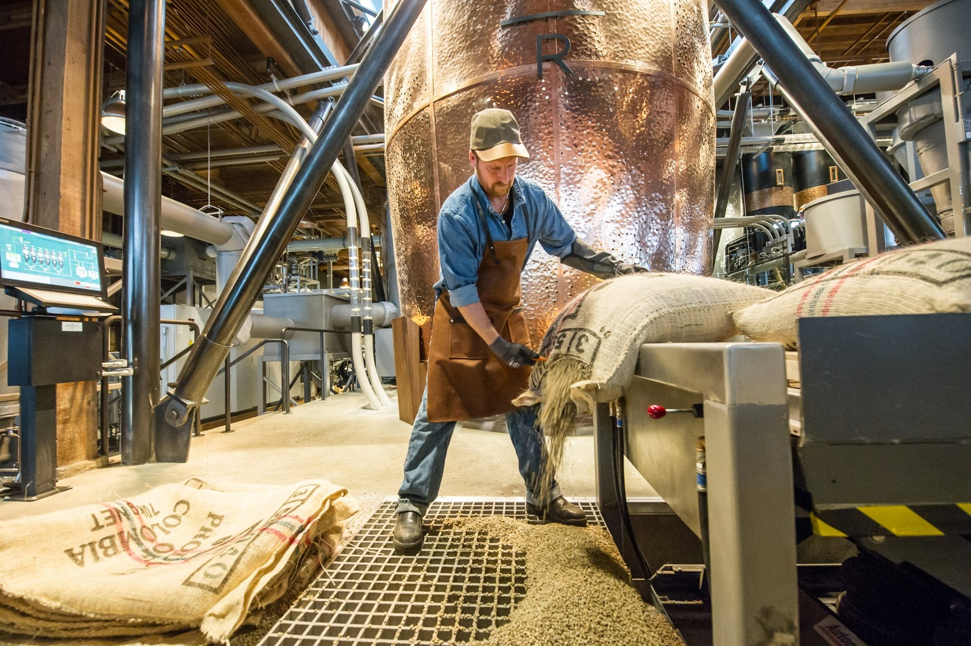 A Peek Inside Starbucks First Reserve Roastery And