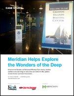 Meridian Helps Explore the Wonders of the Deep