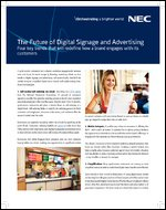 The Future of Digital Signage and Advertising