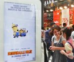 Mobile-controlled Minions drive DOOH campaign for 'Despicable Me 2' (Video)
