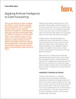 Leveraging Artificial Intelligence in Cash Forecasting