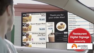 Digital signage in fast casual: building a better customer experience