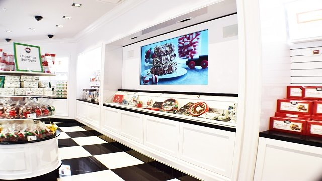 Interactive display offers candy lovers a sweet experience