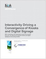 Interactivity Driving a Convergence of Kiosks and Digital Signage