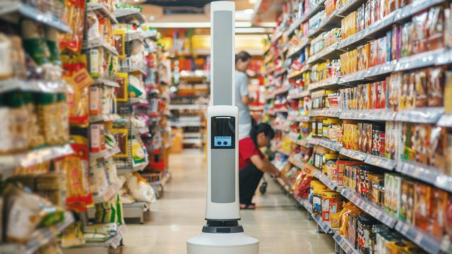 Robot aims to help retailers keep a tally on product, inventory