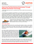 Improving The Most Extreme Businesses Through Reliable And Robust Technology