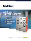 LockSpot Self-Service Retail Lockers