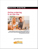 Online ordering is on the rise