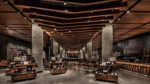 Starbucks Gives Inside Look To Newest Reserve Store In
