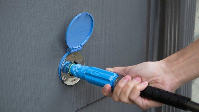 Hydrant helps reduce water footprint