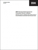IBM Checkout Environment for Consumer-Service software