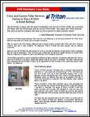 Triton and Express Teller Services Partner to Place RT2000 in Retail Settings