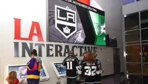Digital signage engaging fans at home of the Lakers, Clippers and Kings