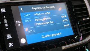 One of the cooler payments-related things we saw at CES was Honda's demo of in-vehicle payments with the help of Visa. At this point, it was a proof-of-concept demo for payments at gas pumps and parking meters. But the demo shows how in-vehicle payments could work in real-life situation drivers face almost everyday.