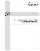 Choosing the right call center