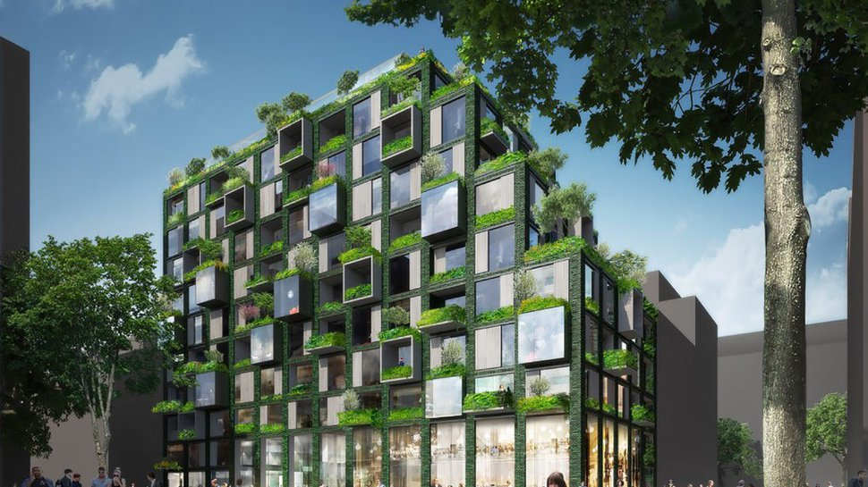 Prefabricated Green Residential Building Slated For Berlin