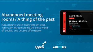 IAdea Partners with Meeting Room Booking System YArooms To Rid the Office World of Unused Office Space
